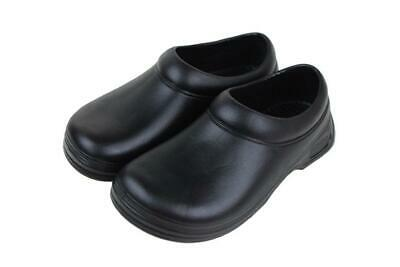 £23.94 • Buy Food Industry Work Shoes Safety Chef's Catering Hospital Black Anti Slip 9031
