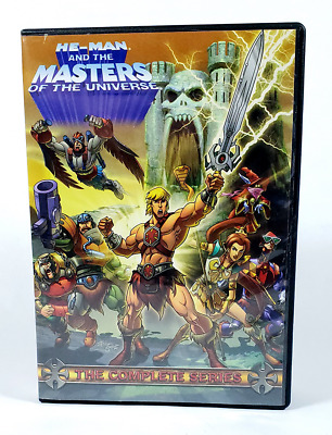 $85 • Buy He-Man And The Masters Of The Universe The Complete Series DVD 2009