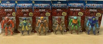 $155 • Buy Masters Of The Universe Lot Of 6 New Classics Mattell  UNPUNCHED FREE SHIPPING !