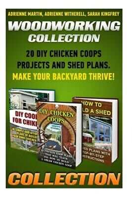 AU35.18 • Buy Woodworking Collection : 20 Diy Chicken Coops Projects And Shed Plans. Make Y...