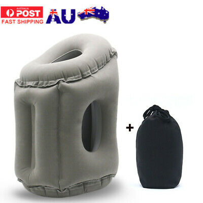 AU14.99 • Buy New Inflatable Air Travel Pillow Cushion Neck Flight Comfortable Support Nap AU