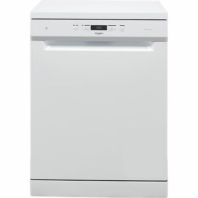 View Details Whirlpool WFC3C33PFUK A+++ Dishwasher Full Size 60cm 14 Place White New From AO • 359.00£
