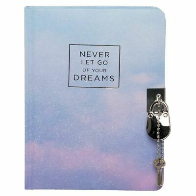 WHSmith Dreams Inspirational A6+ Lockable Journal Case Bound • 8.09£