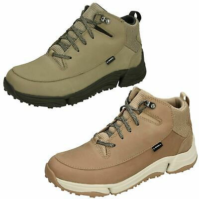 Ladies Clarks Tri Path Hiker Lace Up Casual Sports Waterproof Walking Boots Size • 88.99£