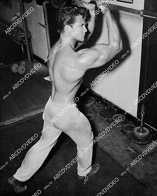 £8.58 • Buy 8b20-20914 Handsome Steve Reeves In Exercise Workout Routine 8b20-20914
