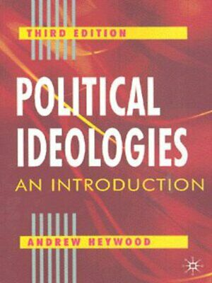 Political Ideologies: An Introduction By Andrew Heywood (Paperback) Great Value • 3.09£