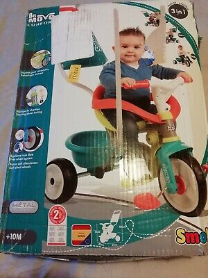 Smoby Be Move Baby Trike With Parent Handle/First Toddler Tricycle New(other)* • 40£