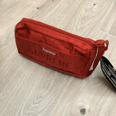 $ CDN95.75 • Buy Supreme Red Organiser Bag Box Logo Cordura