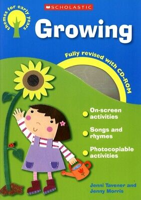 £3.08 • Buy Themes For Early Years: Growing By Jenni Tavener (Mixed Media Product)