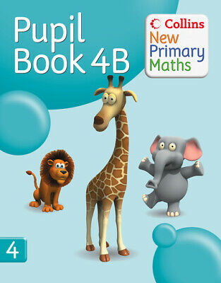 Collins New Primary Maths: Collins New Primary Maths. Pupil Book 4B By Peter • 3.45£