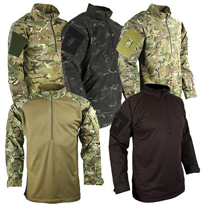British Army Style Ubacs Shirt Mtp Multicam Reinforced Elbows Pcs Tactical Fleec • 28.95£