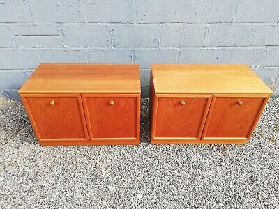 G Plan Retro Vintage Teak Sideboard  Storage / Media Cabinet X 2 • 70£