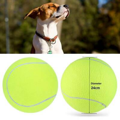 £5.99 • Buy 24CM Giant Tennis Ball Dog Chew Toy Big Inflatable Supplies Outdoor Toys - UK