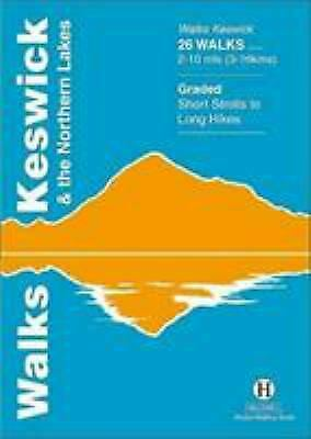 Walks Keswick And The Northern Lakes Paperback Richard Hallewell • 4.70£