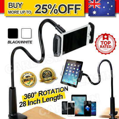 AU12.95 • Buy 360 Gooseneck Table Bed Clamp Stand Holder Mount For IPad Tablet Flexible Arm AU