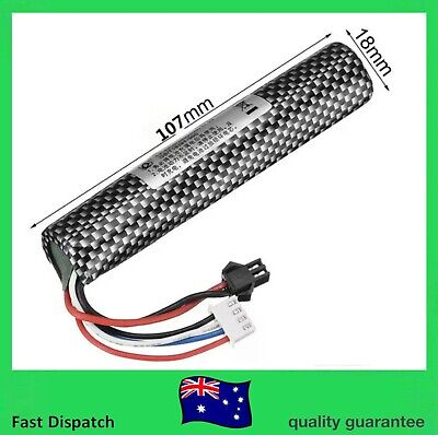 AU18.98 • Buy 11.1v 2000mAH 30C Lipo Battery GEL BALL Charger BLASTER SCAR M4 G36 M4A1 UPGRADE