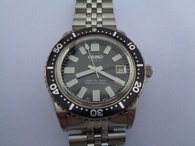$ CDN15.42 • Buy Seiko Diver Mens Watch Day & Date Automatic 7s26-0040 62mas Dial Black
