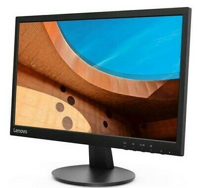 New Lenovo D22-10 21.5  LED Full HD LCD Monitor 1920 X 1080p 60Hz 5ms HDMI VGA • 69.99£