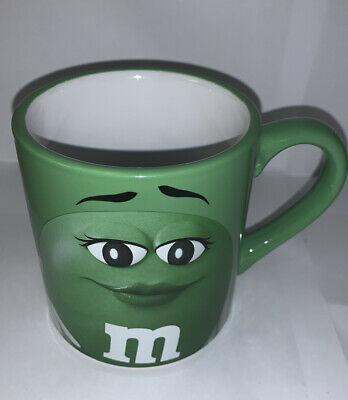 $6.50 • Buy M & Ms Green MM Large Coffee Mug Cup 2016 Official Licensed