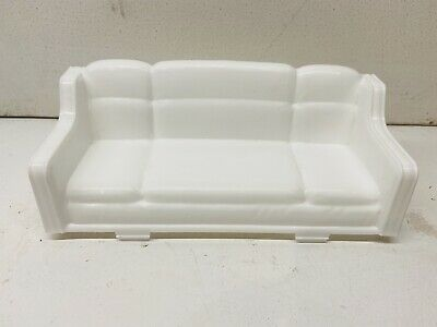 £10.61 • Buy Barbie Glam 3 Floors Pop-up Camper Van RV  Replacement White Couch Furniture