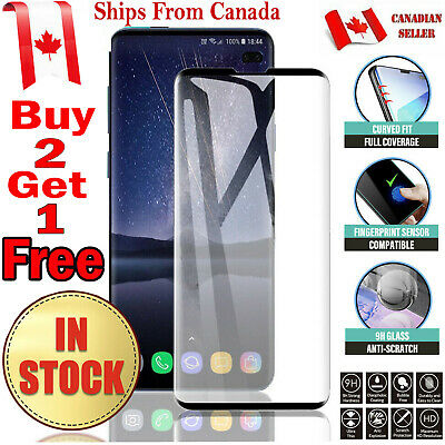 $ CDN6.25 • Buy For Samsung Galaxy S8 / S9 Plus 3D Case Friendly Tempered Glass Screen Protector