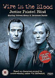 Wire In The Blood - Justice Painted Blind (DVD, 2009) • 2.10£