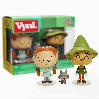 New The Wizard Of Oz Dorothy Toto & The Scarecrow Figures Vynl. Official • 9.99£