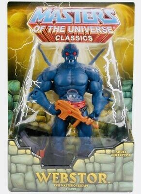 $119.95 • Buy Masters Of The Universe Classics Webstor Sealed In Mailer.