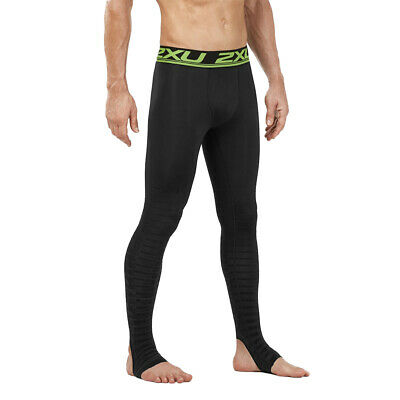2XU Men's Power Recovery Compression Tights-Black/Nero RRP £110 • 69.99£