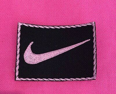 Embroidered Sports Logo Nike Pink Iron On Or Sew On Patch • 1.78£