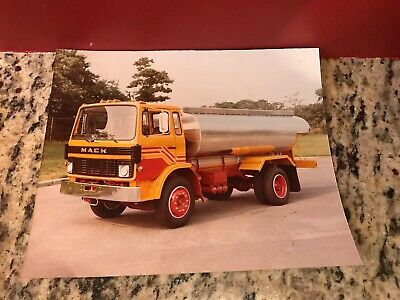 $14.67 • Buy Vintage Mack Truck Renault Cab Over  Engine Oil Carrier Photo 10 In W By 8 In