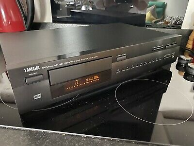 Yamaha Cd Player Hifi Compact Disc Black Cdx-490 Serviced Natural Sound Exc Cond • 74.99£