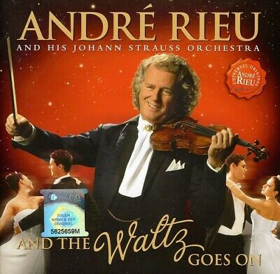 Rieu, Andre : And The Waltz Goes On CD Highly Rated EBay Seller Great Prices • 3.98£