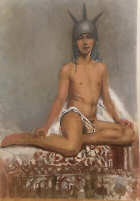 Male Nude Oil Painting • 160£