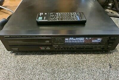 Yamaha Cdx-810 Vintage Cd Player & Remote Control • 120£