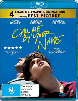 AU21.65 • Buy Call Me By Your Name  - BLU-RAY - NEW Region B