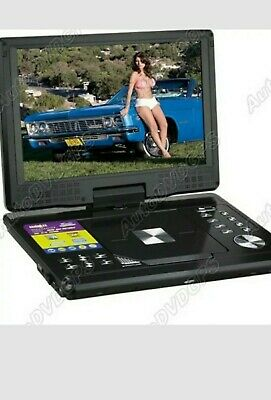 12 Inch Car Home Portable DVD Player With TFT LCD Screen And MP3 MP4 TV SD DIVX  • 70£
