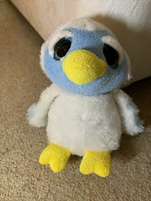 Keel Toys Podlings Soft Toy Of Snowdrop The Owl • 4.50£