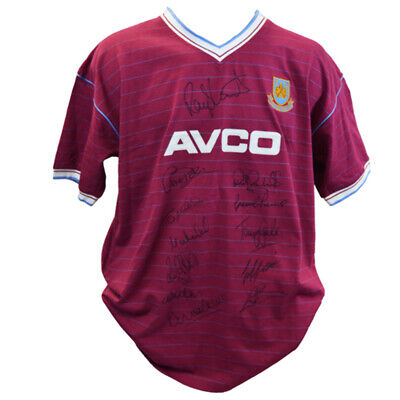 £236.25 • Buy West Ham 1986 Shirt Signed By 12