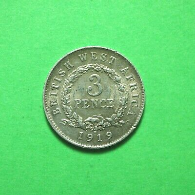 £19.75 • Buy 1919H British West Africa Silver Threepence SNo59720