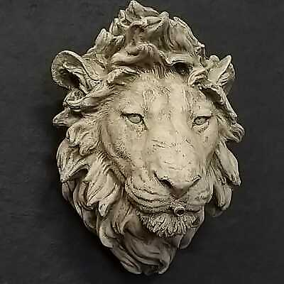 Lion Fountain Mask, Lion Water Feature, Lion Wall Plaque - Fountain Head Feature • 59.99£
