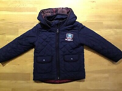 """""""Thomas The Tank Engine"""" Kids Winter Cold Weather Coat Jacket 4-5 Years • 7£"""