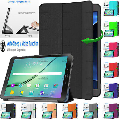 Leather Magnetic Smart Case Cover For Samsung Galaxy Tab S2 9.7  SM-T815 SM-T810 • 5.26£