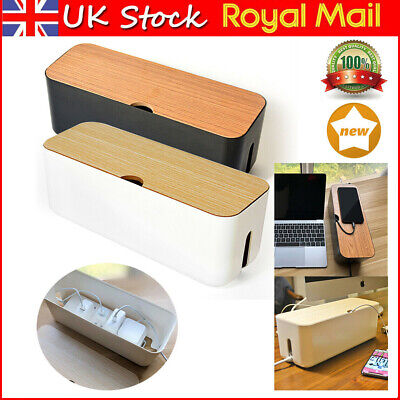 £12.99 • Buy Cable Storage Box Case Power Strip Cord Wire Management Socket Cable Tidy Box