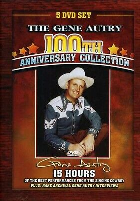 Gene Autry 100th Anniversary Collection DVD Incredible Value And Free Shipping! • 39.99£