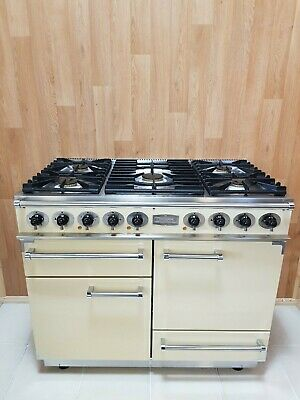 Falcon 1092 De Luxe Multifunction Range Cooker In Cream And Chrome. Ref--c24 • 1,520£