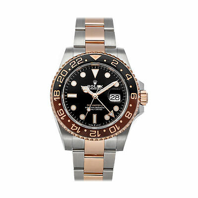 $ CDN25996.87 • Buy Rolex GMT-Master II Rootbeer Auto Steel Gold Mens Bracelet Watch 126711CHNR