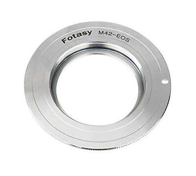 $10.99 • Buy Fotasy Copper M42 Lens To Canon Adapter, M42 EF Adapter,M42 EF-S, Infinity