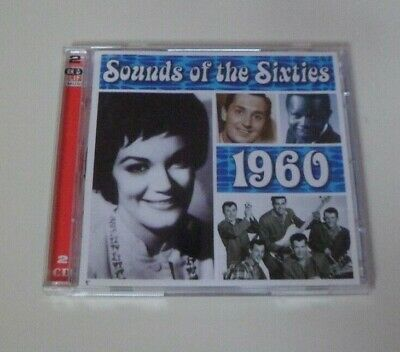 Sounds Of The Sixties 1960 Cd  Time Life Music.  Double Cd  Rare  • 22.99£