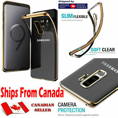$ CDN7.45 • Buy For Samsung Galaxy S9 S9+ Plus Case Soft Shockproof Electroplating Full Cover
